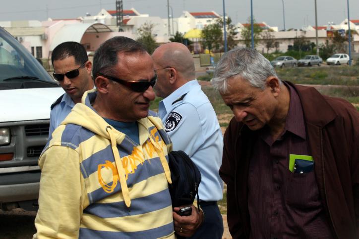 נחום ברנע ושמעון שיפר (צילום: יוסי זמיר)