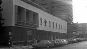 """בית סוקולוב, בית העיתונאים בתל-אביב, 1976 (צילום: משה מילנר, לע""""מ)"""