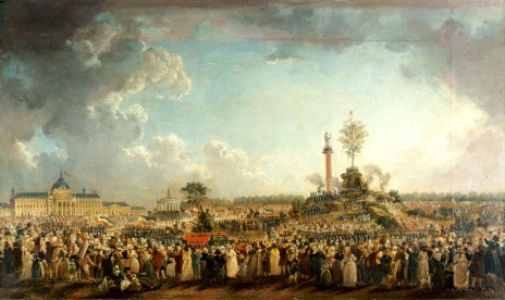"""""""חגיגת כת הישות העליונה"""", פייר-אנטואן דמאשי, 1794"""