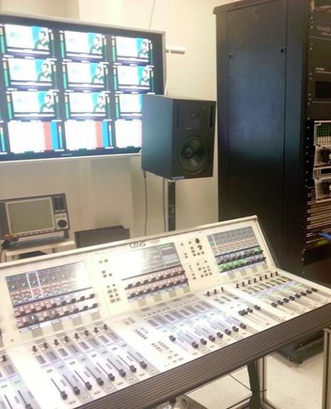 אולפן ה-HD של רשות השידור (צילום: רשות השידור)