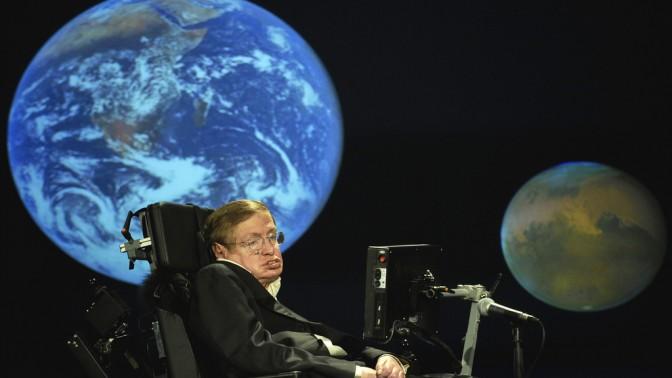 המדען סטיבן הוקינג. צילום: NASA/Paul E. Alers (רשיון cc-by-nc)