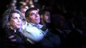 """הרמטכ""""ל לשעבר גבי אשכנזי ואשתו רונית, בטקס הפרידה מצה""""ל 13.2.11 (צילום מקורי: מיכאל שבדרון, דובר צה""""ל)"""