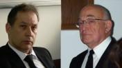 """עורכי הדין מיבי מוזר (מימין) ואילן בומבך (צילום: """"העין השביעית"""")"""
