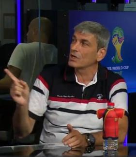 פרימו משנה את פני ההיסטוריה (צילום מסך מערוץ הספורט)