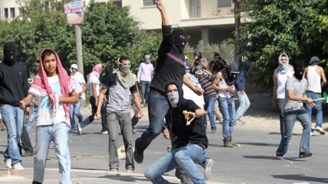 הפגנה באום אל-פחם, 27.10.10 (צילום: נתי שוחט)