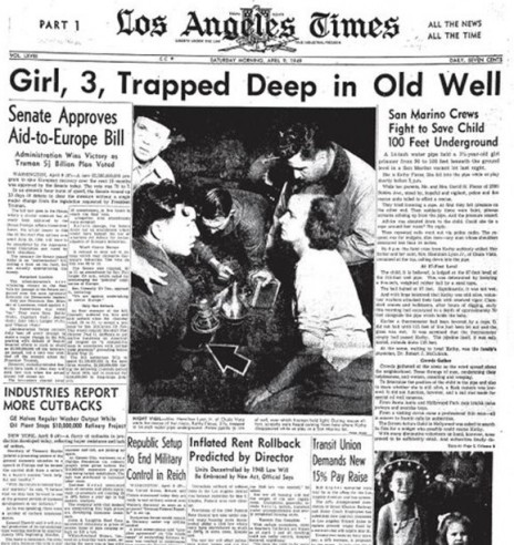 """""""לוס-אנג'לס טיימס"""", 9.4.49"""