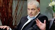 """רונאל פישר בתוכנית """"שיחת נפש"""" בטלוויזיה החינוכית (צילום: איה אפרים)"""