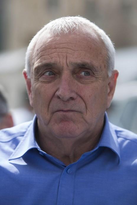 השר לשעבר לבטחון פנים, יצחק אהרונוביץ' (צילום: יונתן זינדל)