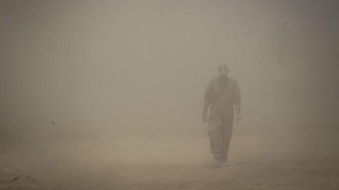 חייל ישראלי, פאתי עזה, 25.7.14 (צילום: הדס פרוש)