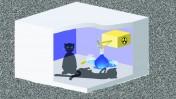 """(איור """"החתול של שרדינגר"""": שאטרסטוק)"""