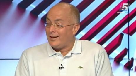 ארז אדלשטיין, פרשן ערוץ הספורט (צילום מסך)
