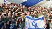 """עולים מצפון אמריקה שהתחייבו לשירות בצה""""ל לאחר הגעתם לישראל. 13.8.13 (צילום: יוסי זליגר)"""