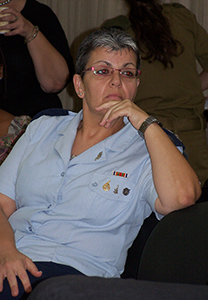 """סימה וקנין-גיל, הצנזורית הצבאית הראשית (צילום: """"העין השביעית"""")"""
