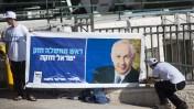 כרזת בחירות של הליכוד - ישראל ביתנו, דצמבר 2012 (צילום: יונתן זינדל)