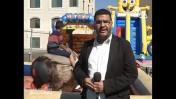 כתב ערוץ אל-אקצא מוסטפה חואג'ה (צילום מסך)