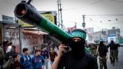 תהלוכה של גדודי עז א-דין אל-קסאם, רצועת עזה, 12.12.14 (צילום: עבד רחים ח'טיב)