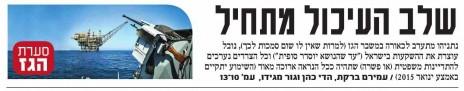"""שער """"גלובס"""" (פרט), 24.12.14"""