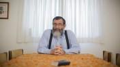 דייוויד לנדאו, בביתו בירושלים, 22.9.2014 (צילום: יונתן זינדל)