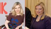 """שרה נתניהו. מימין: בצילום של לשכת העיתונות הממשלתית (חיים צח), משמאל: על שער המגזין """"את"""" שעתיד להתפרסם מחר (ז'אן כהן)"""
