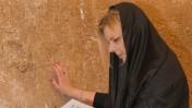שרה נתניהו מבקרת בכותל המערבי (צילום: מתוך עמוד הפייסבוק של ראש הממשלה בנימין נתניהו)