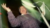 שמוליק רוזן חד חידה, 1995 (צילום: משה שי)