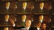 """יו""""ר הליכוד בנימין נתניהו מיד לאחר הניצחון בבחירות הכלליות לכנסת, 2.6.1996 (צילום: פלאש90)"""