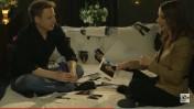 תמר איש-שלום וליאור שליין בפרסומת למשדר הבחירות של ערוץ 10 (צילום מסך)