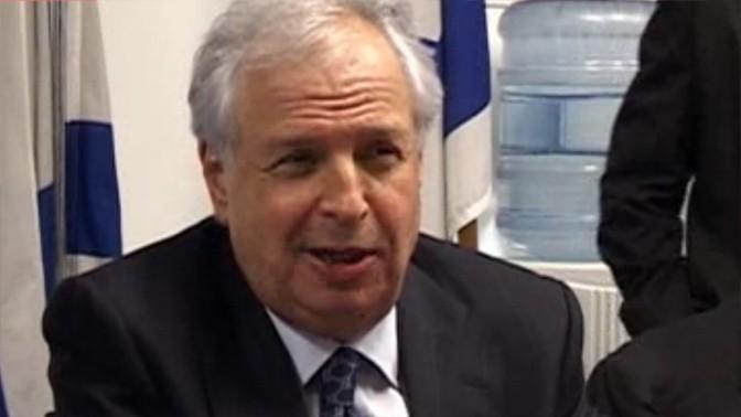 """שאול אלוביץ', בעל השליטה בבזק, yes ו""""וואלה"""", במעמד רכישת בזק (צילום מסך)"""