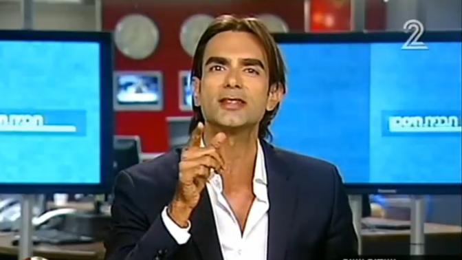עידן וולס, ערוץ 2, 6.7.2015 (צילום מסך)