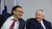 היועץ המשפטי לממשלה יהודה וינשטיין (מימין) ופרקליט המדינה שי ניצן (צילום: יונתן זינדל)