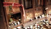 זירת הפיגוע של המחבל נשאת מלחם ברחוב דיזנגוף בתל-אביב, 2.1.16 (צילום: תומר נויברג)