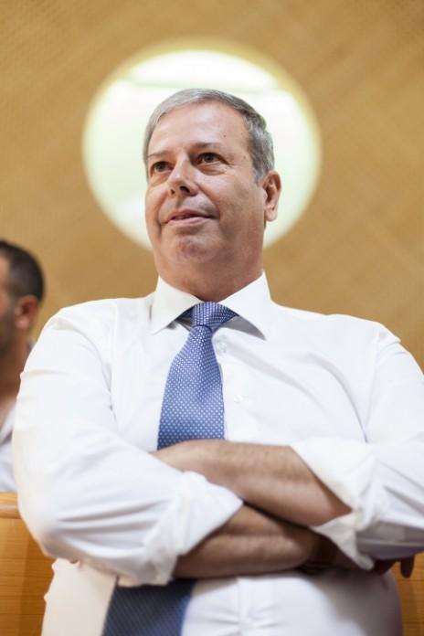 ראש עיריית נצרת-עילית, שמעון גפסו, בבית-המשפט העליון, 10.9.2013 (צילום: פלאש 90)