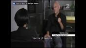גיא פלג מראיין את עינת הראל בחדשות ערוץ 2 (צילום מסך)