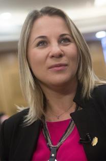 """ח""""כ קסניה סבטלובה (צילום: מרים אלסטר)"""