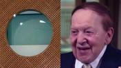 שלדון אדלסון וחלון באולם בית המשפט העליון (צילומים: צילום מסך ופלאש90)