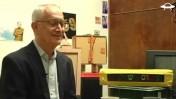 """עמוס שוקן בראיון אצל ניר גונטז' בתוכנית """"סוגרים שבוע"""" בערוץ """"החללית"""" (צילום מסך)"""
