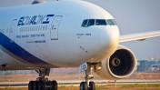 מטוס אל-על בנמל התעופה בן-גוריון, 5.8.13 (צילום: משה שי)