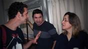 אילנה דיין, עמרי אסנהיים וגידי וייץ, כנס תל-אביב לתקשורת, 10.3.2016 (צילום: אורן פרסיקו)