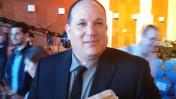 """רון ירון בכנס המאבק בחרם של קבוצת """"ידיעות אחרונות"""". בנייני-האומה, ירושלים, 28.3.16 (צילום: איתמר ב""""ז)"""
