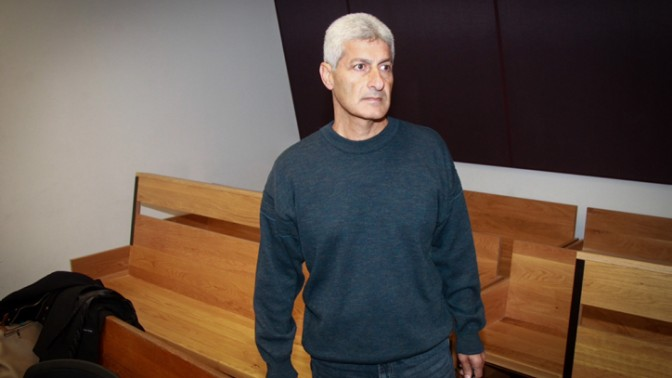 ראש עיריית אור-יהודה לשעבר דוד יוסף בבית-המשפט המחוזי בראשון-לציון, 23.2.16 (צילום: פלאש 90)