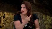 """קרין גורן בתוכנית """"בייק אוף"""" (צילום מסך)"""