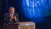 בנימין נתניהו נושא נאום בערב יום הזיכרון לשואה ולגבורה, יד ושם, 4.5.2016 (צילום: הדס פרוש)