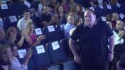 """רון ירון בטקס """"המורה של המדינה"""", 16.6.16 (צילום מסך)"""