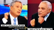 """עו""""ד יוסי כהן והיחצן ניר חפץ מדבררים את משפחת נתניהו באולפן חדשות ערוץ 2 (צילומי מסך)"""