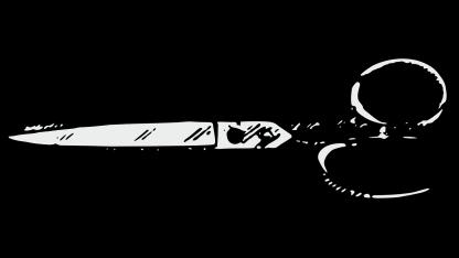 מספריים, צנזורה (איור: נחלת הכלל)