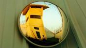מגדל שמירה בכלא איילון (צילום: נתי שוחט)