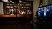 """בנימין נתניהו מעניק ראיון במשרדו, יולי 2015 (צילום: קובי גדעון, לע""""מ)"""