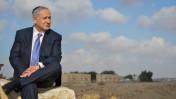 """ראש הממשלה בנימין נתניהו בחלקת הקבר של דוד בן-גוריון בשדה-בוקר, 18.11.15 (צילום: קובי גדעון, לע""""מ)"""