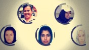 """חמש עיתונאיות נהרגו במהלך 2016: מרים אברהימי, מהרי עזיזי וזיינאב מירזאי מאפגניסטן, אנבל פלורס סאלאזר ממקסיקו וסאלאד עוסמאן סאגאל מסומליה (צילומים: מדו""""ח ארגון """"עיתונאים ללא גבולות"""")"""