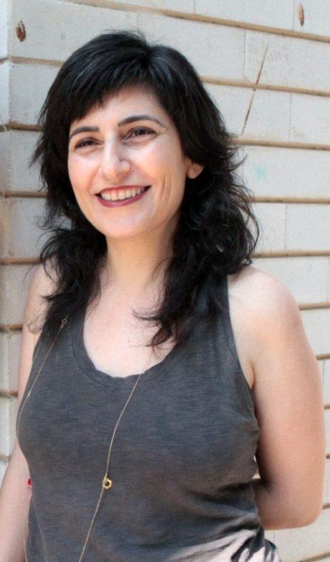 """אירית דולב, עורכת האתר """"המקום הכי חם בגיהנום"""", מרץ 2014 (צילום: ליוי וינטר)"""